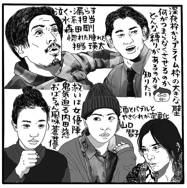 「ハロー張りネズミ」(TBS系、金曜22時~)(C)吉田潮
