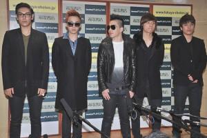 BIGBANGの5人
