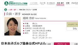 記録ずくめのV(日本女子プロゴルフ協会公式HPより)