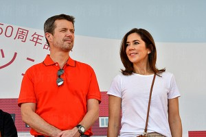 デンマークのフレデリック皇太子とメアリー皇太子妃
