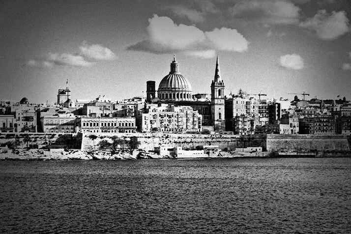 事件が起こったマルタ島