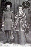 溥傑と嵯峨浩(Wikimedia Commons)