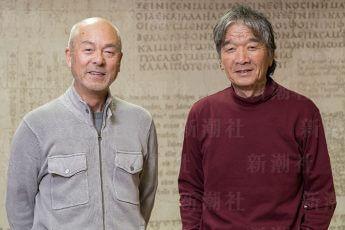 中村征夫さん(左)、椎名誠さん(右)