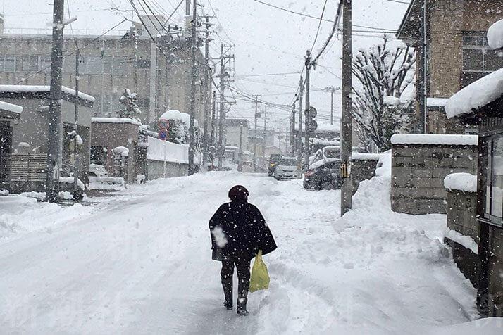 津軽は雪の中