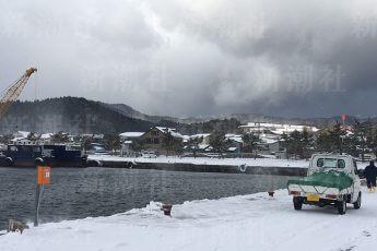 脇野沢の漁港