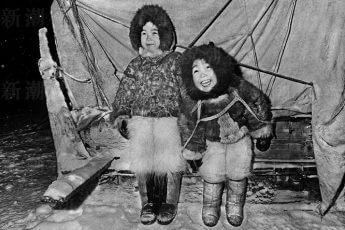 モコモコの毛皮を着た姉妹