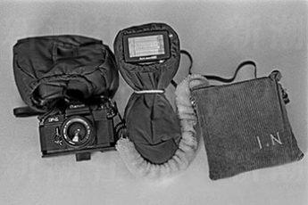 カメラの防寒具