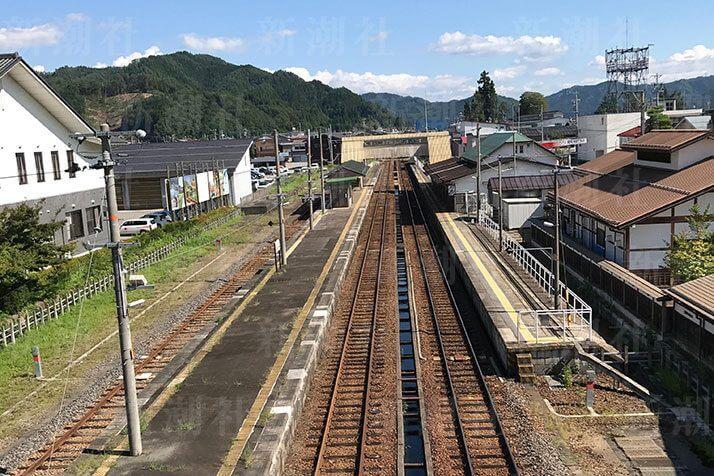 「君の名は。」のモデルとなった飛騨古川駅
