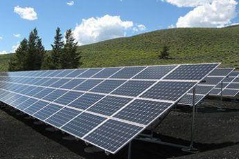 太陽光発電(イメージ)