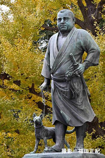 上野の西郷隆盛銅像