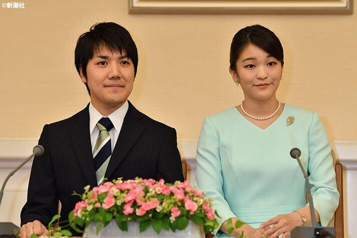 小室圭さんと眞子さま
