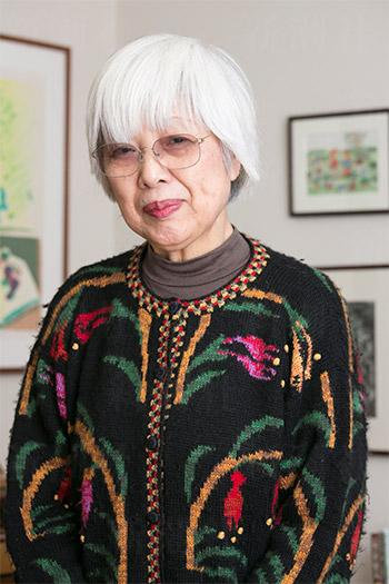 中川李枝子さん