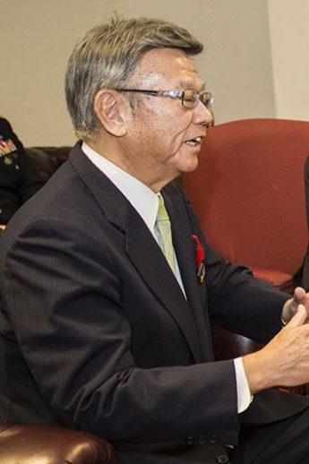 翁長雄志知事(Wikimedia Commonsより)