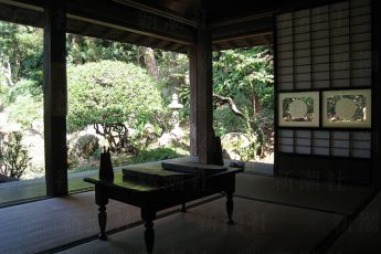 漱石が逗留した部屋