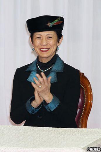 高円宮妃久子さま