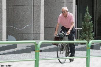 """「日本大学""""炎上司会者""""」の休日(撮影・上原賢一)"""