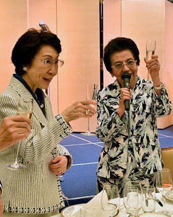安倍洋子、加藤睦子