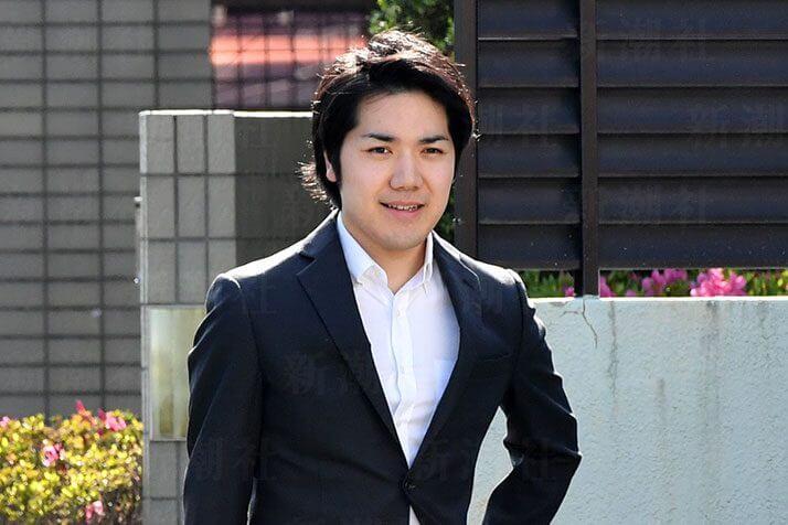 米国へ留学する小室圭さん(他の写真を見る)