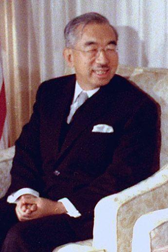 昭和天皇(Wikimedia Commonsより)
