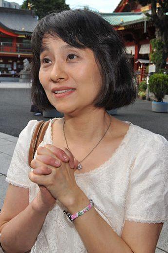 石破氏の妻の佳子さん
