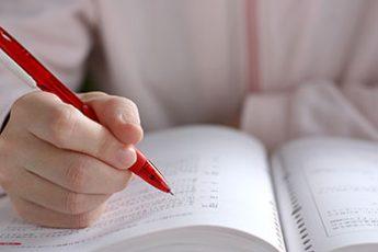 どれだけ勉強すればいい?(※写真はイメージ)