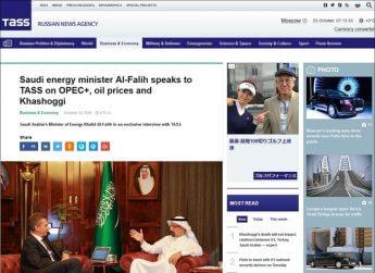 「記者殺害」で「サウジ石油相」が「ロシア」に語った中身