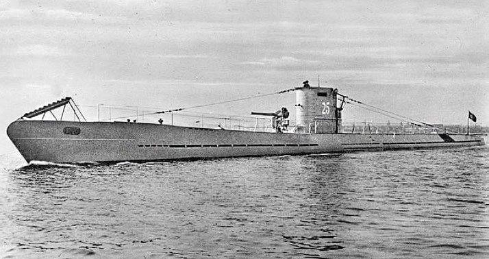 哨戒中のUボートI型U-25