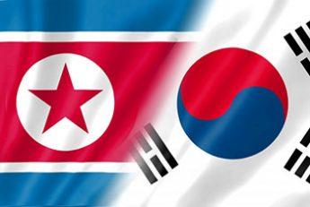 北朝鮮・韓国 旗