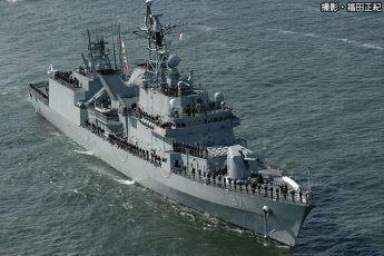駆逐艦「広開土大王(クァンゲトデワン)」