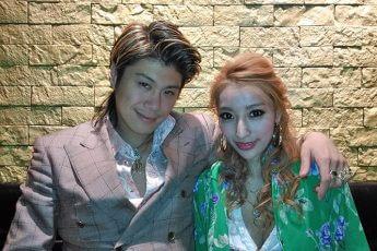 マレーシアでの加藤紗里と恋人(写真:本人提供)