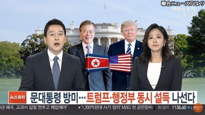 聯合ニュースTVより