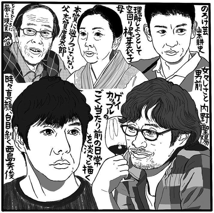 「きのう何食べた?」(テレビ東京系、金曜24時12分~)(C)吉田潮